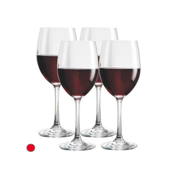Rødvinsglas 24,5 cl.