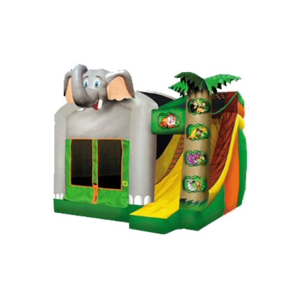 Elefant slide - hoppeborg